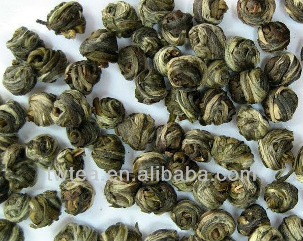 Fujian Handmade Jasmine Tea Natural Jasmine Dragon Pearl Green Tea