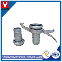 Pull handle and a spout pipe fitting galvanized bauer coupling