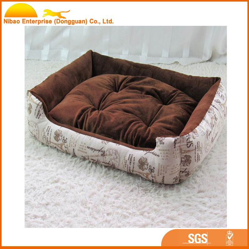 whoesale high quality soft plush dog bed for pet mat