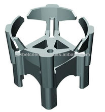 plastic spacer for concrete bar chairs