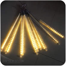 Connectable Falling Snow China LED Meteor Rain Tube Lights LED Raindrop Christmas Lights