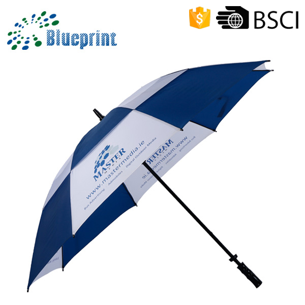 Shenzhen Umbrella factory Custom Made Brands Printing Hotel Promotional Golf Umbrella