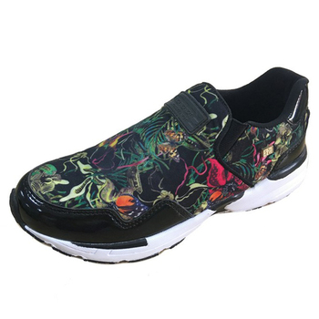 Best sell flower best casual walking casual shoes for women