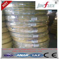 JINFLEX SAE 100R2AT/2SN Yellow Pressure Washer Hose, Yellow Hydraulic hose, Steel wire braided high pressure rubber hose