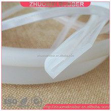 silicone rubber e gasket with long tail