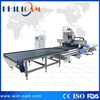 China manufacturer 3d auto uploading and downloading ATC cnc router for furniture