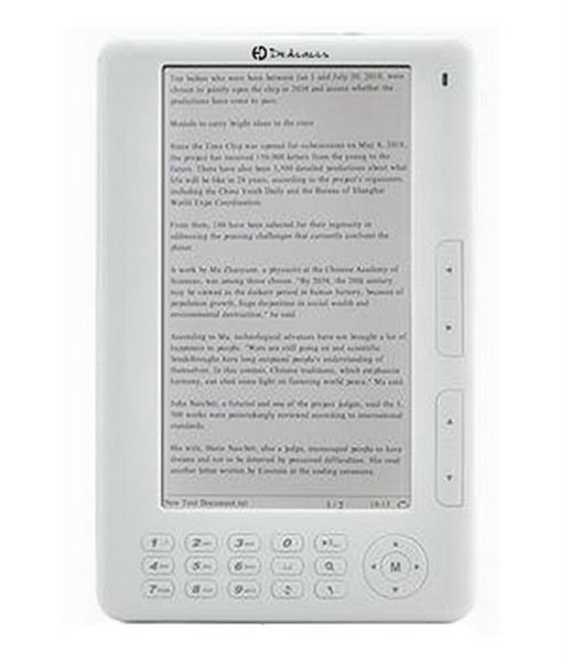 The eBook Reader from Dedicaces (Model A-E701)