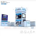 Aluminum trade show display custom exhibit displays 6x6 FAIR booth