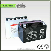 Wholesale YTX9-BS 12V 9Ah Sealed Dry charged Lead Acid Motorcycle Battery