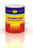 Auto Car Paint Metallic Colors
