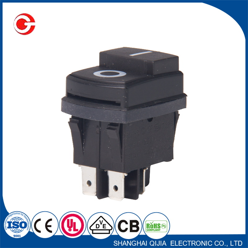 12V 125VAC Solar Panel On Off Rocker Switch Button
