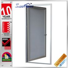 Australian standard anti noise french fabrication of aluminum windows and doors