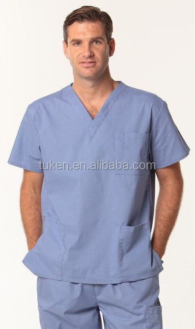 SCRUB UNIFORM/ 2015 New Style nurse uniform / hospital medical scrubs