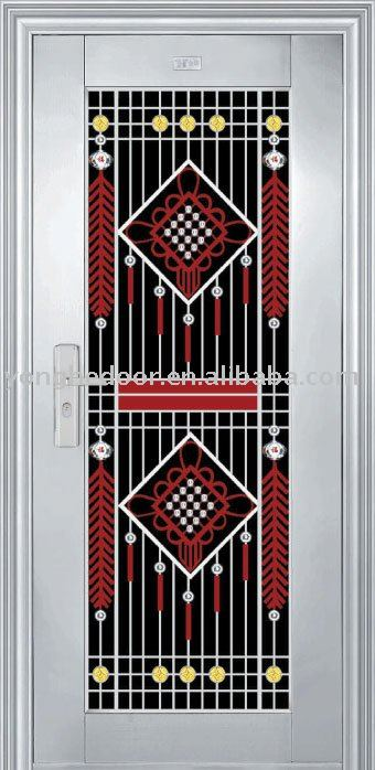 Price design stainless steel Exterior door