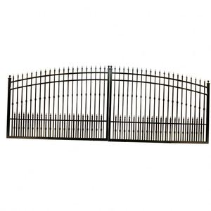 Cheap galvanized aluminum garden gates fence panel