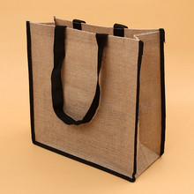 jute wine tote bag wholesale