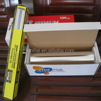 Roll Type aluminium foil for food packaging length 3m