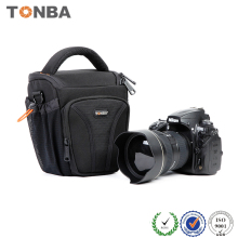 Small Trendy Waterproof Nylon Sling Camera Bag Case and Digital Bag Black