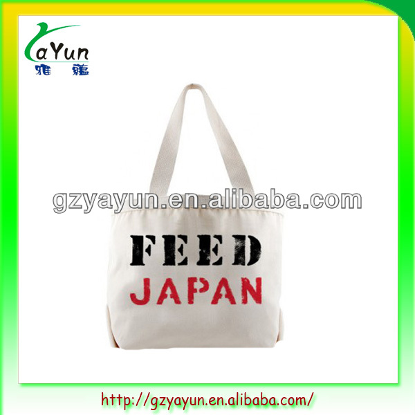 Custom Promotional Cheap Cotton Tote Bag, cotton shopping bag