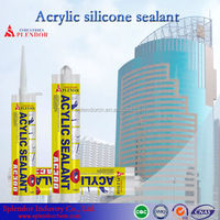 acetic cure silicone sealant/ silicone sealant low price/ clear coat for silicone sealant adhesive