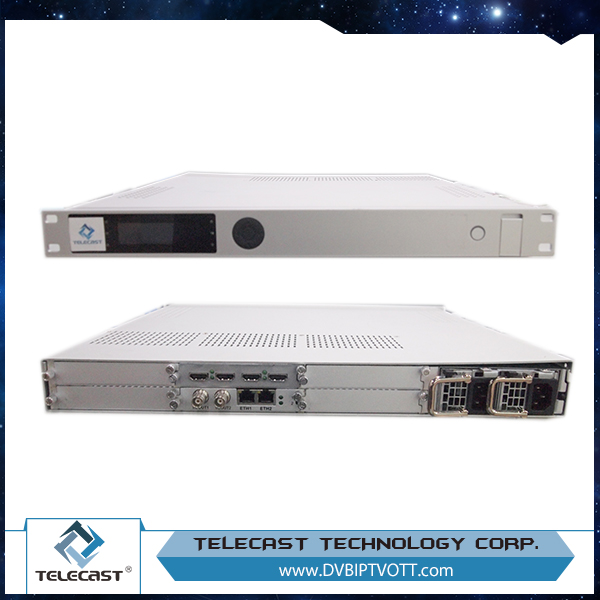 Digital Headend 8h dmi streaming encoder (HDCP/volume edit,8*H DMI+ASI in,ASI+IP(1*MPTS/8*SPTS) out)