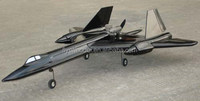 RC Model airplane SR-71 Blackbird