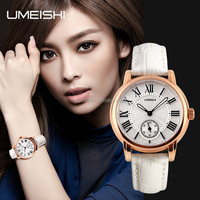 New arrival Ladies Quartz watch Genuine Leather Strap watch strong waterproof watch