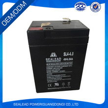 wholesale low price 4v 4ah SMF battery for security alarm system