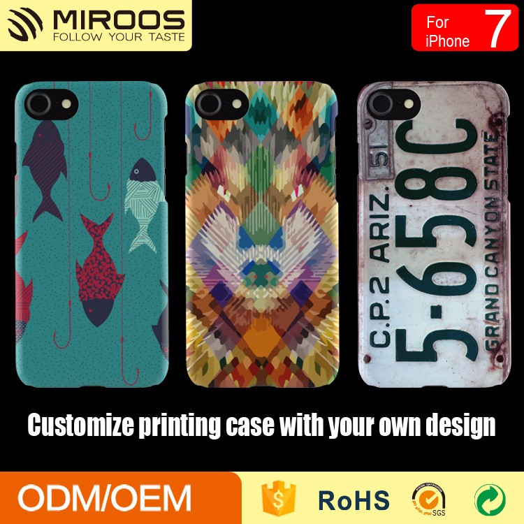 OEM ODM customize printing phone case for iphone 7 6 6s 5, for samsung mobile cover
