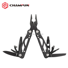 Hot sale good quality mini black coated stainless steel multi tool plier