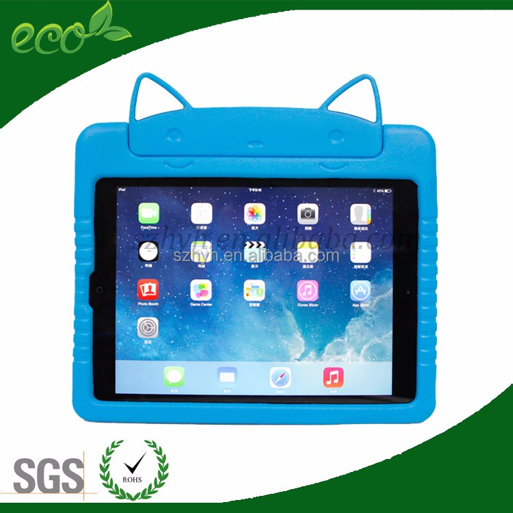 2016 hotsale kids proof 7 inch tablet case for ipad mini