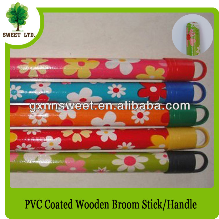 Decorative Broom Woooden Handle for Home and Garden