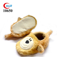 cheap fanny cute animal model mule slippers for child