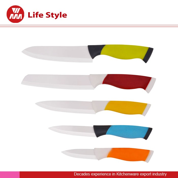 4pcs ceramic knife set