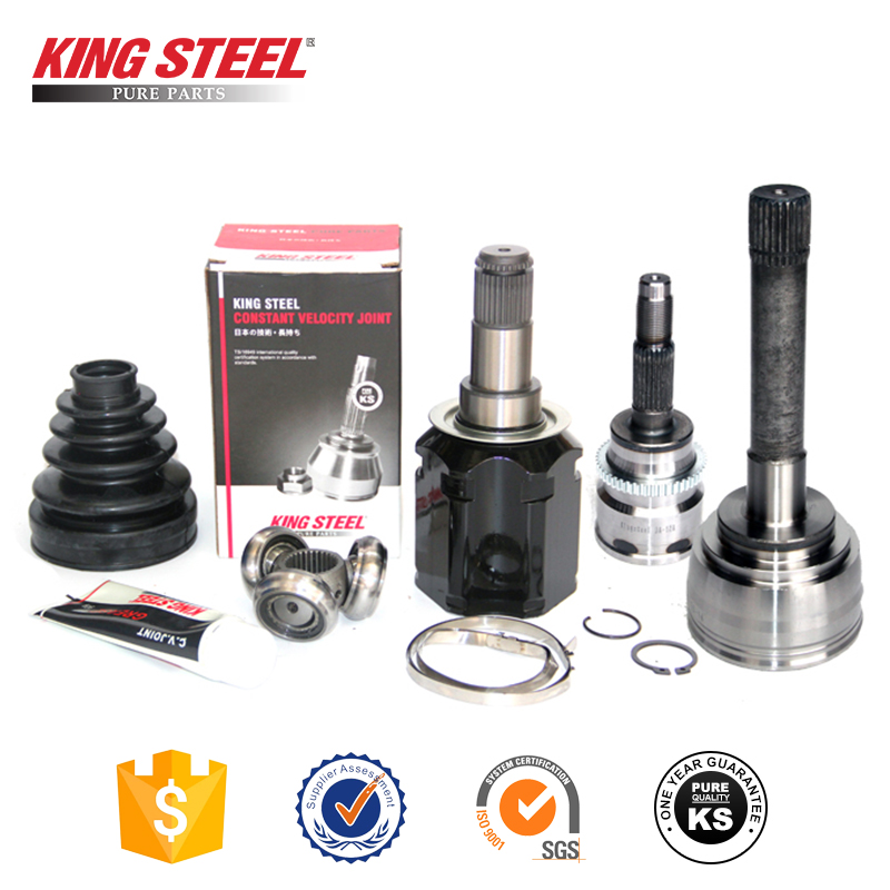 King Steel Japan Auto Small Teeth Inner Outer Tripod CV Joint , CV Axle For Toyota Camry Vios Corolla Mazda 3 Mitsubishi Lancer