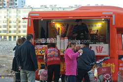 Popular Multi-function Mini Food Truck / Hot Dog Vending Van/ Fast Food Cart