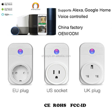 New smart home Xenon timer EU US AU wifi power socket plug outlet,smart phone Wireless Controls Socket