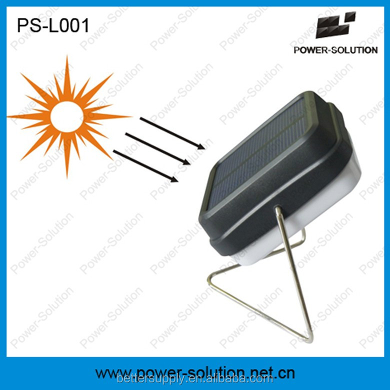 2016 Rechargeable mini solar reading lamp under US$3/pc with 2 years warranty