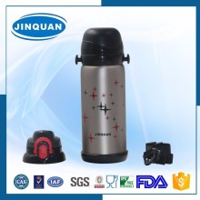 sports stainless steel bottle with cap for business
