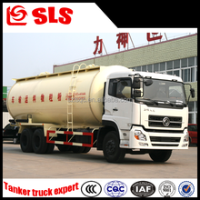 Dongfeng 3 axles diesel air compressor bulk cement silo truck with cummins engine