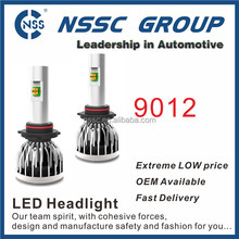 NSSC super bright car led headlight h1 h3 h7 h8 h11 9005 9006 h4