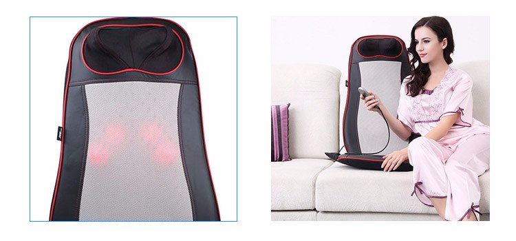 2017 New Design Comfortable Kneading Back And Buttock Massager Cushion
