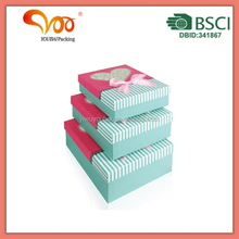 TOP SELLING STYLE Custom Handcraft luxury birthday cake paper boxes
