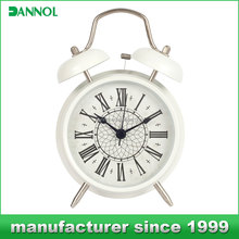 metal material french style antique desktop clock for home decor