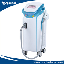 Gold standa big spot size 1200W diode laser for male back hair removal
