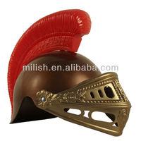 Party Plastic toy Medieval Roman Knight helmet MHH60