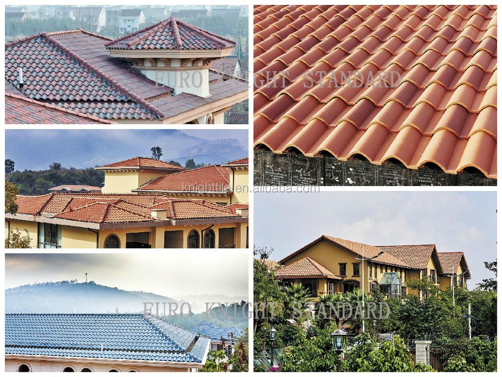 Promotion spanish s style villa clay roofing tile for sale for Spanish style roof tiles