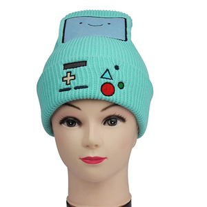 a5b3ff0f664 Unisex Knitted Beanies Cute Winter Hat For Girls Lovely Skull Cap Beanies  With Custom Embroidery