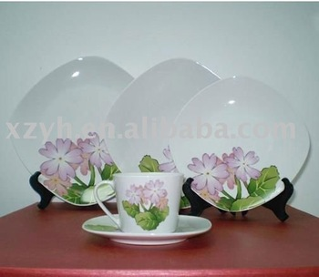 Porcelain Dinnerware Set With Printing