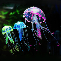 High quality artificial jellyfish aquarium accessories floating jellyfish toy